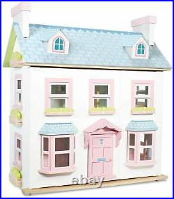 Le Toy Van DOLL HOUSE MAYBERRY MANOR Wooden Toy BNIP