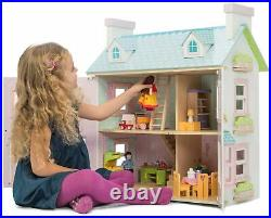 Le Toy Van DOLL HOUSE MAYBERRY MANOR Wooden Toy BN