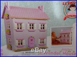 Le Toy Van Wooden Daisylane Lavender Dollhouse by Le Toy Van NEW