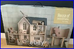 MAILEG House Of Miniature 3 Story WOODEN DOLLS HOUSE brand new SEALED BOX