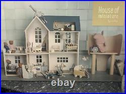 Maileg House Of Miniature 3 Story Wooden Dollshouse Been On Display New