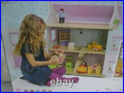 NEW Le Toy Van Daisy Lane Sophie's House Victorian Pink Wooden Doll House