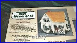 NOS Greenleaf Products The Westville Wooden DOLLHOUSE Kit in 1 scale