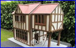 New and Unused Period Wooden Dollshouse