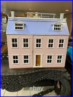 Pink Wooden Doll's House (Used but in great condition)