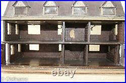 Rare Wooden Dolls House The Sparrow House, Ipswich F Tibbenham c1930