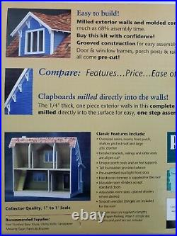 Real Good Toys Beachside Bungalow 1 Inch Scale B1895 Wooden Dollhouse Kit