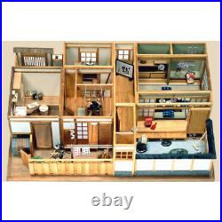 SUKIYA Style Japanese Room FULL COMPLETE Set 112 Wooden Doll House Handmade Kit