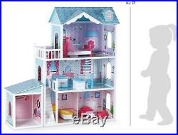 Small Foot Deluxe Villa Large Wooden Furnished Doll's House Toy