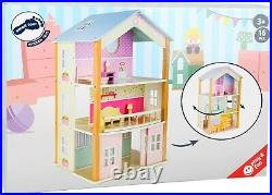 Small Foot Doll's House 3 storey Palace rotatable 11192 Doll wood wooden toy