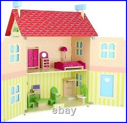 Small Foot Doll's House with Removable Roof 10736 Doll dolls Wood Wooden Toy