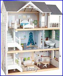 Small foot wooden toys Urban Villa Doll House Playset Collection Designed for 3+