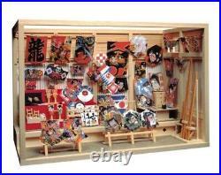 Sosaku-Rakuza 1/12 Scale Wako Hyakkei Wooden Kit Dollhouse From Japan NM