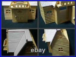 Sylvanian Families Wooden Nonohana Rabbit House Epoch Doll House Limited