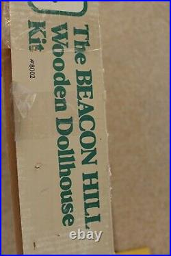 The Beacon Hill Wooden Dollhouse Kit by Greenleaf 112 Scale Open Box NICE KIT