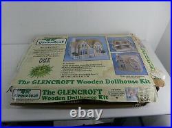 The Glencroft Wooden Dollhouse Kit Greenleaf Tudor Dollhouse (I28)