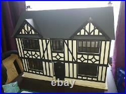 Tudor wooden dolls house