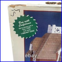 VINTAGE RARE Greenleaf Chantilly Wooden Dollhouse Kit # 8008 NEW IN BOX, 1992