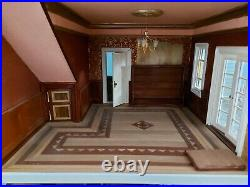 Very Large 4ft tall Hand Made Wooden Dolls House