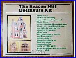 Vintage Beacon Hill Wooden Dollhouse Kit by Greenleaf DS-2 (#8002) New in OBs