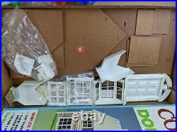 Vintage Brumberger Colonial Wooden Doll House 772 Dollhouse Kit Dolls Furniture