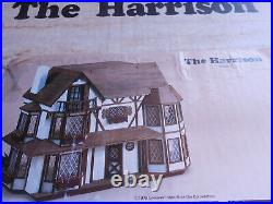 Vintage Dollhouse GREENLEAF KIT The Harrison 1979 Wood Tudor Wooden NewFREESHIP
