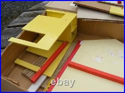 Vintage Dolls House Fold Away Wooden By Eeserect
