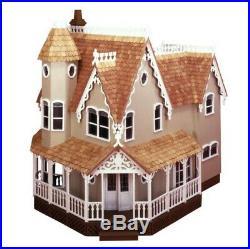 Vintage Pierce Dollhouse Kit Greenleaf Wooden Doll House Kit #8011 NOS