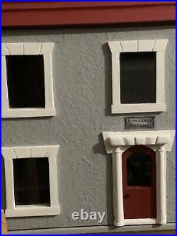 Vintage Wooden Dolls House