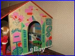 Vintage Wooden France Summer Doll House by Sio Holland 1970s