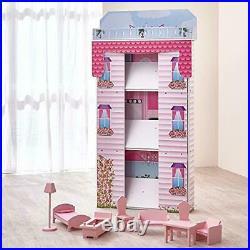 Wooden Casa Casas De Muñecas Toy Houses For Girls Juguetes Regalos Para De Nina