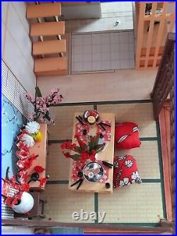 Wooden Dolls House Japanese Minature