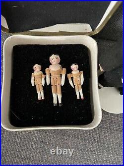 Wooden Peg Doll 3 Cm Tre Doll