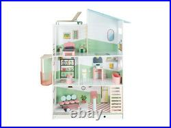 Wooden Premium Dolls House With Furniture