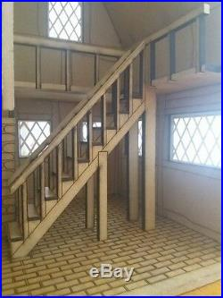 Wooden made-to-order Tudor Dolls House / satetly home